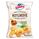 Slovakia Kotlíkové Potato Chips Cream and Spring Onion 120 g
