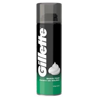 Gillette Classic Menthol Pánska Pena Na Holenie 200 ml