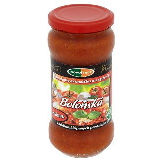 Novofruct Premium Tomato Sauce for Pasta Bolognese Meat 350 g