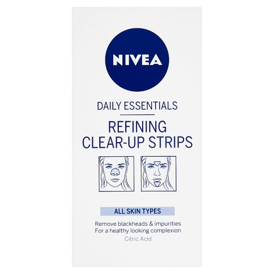 Nivea Refining Clear-Up Strips 6 pcs