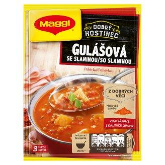 MAGGI Dobrý hostinec Gulášová polievka so slaninou vrecko 70 g