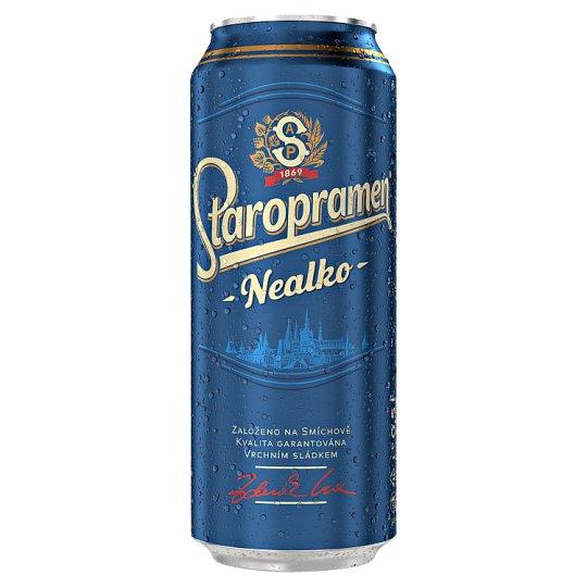 Staropramen Nealko pivo nealkoholické svetlé 0,5 l