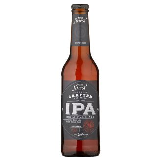 Tesco Finest IPA pivo špeciálne svetlé nefiltrované 330 ml