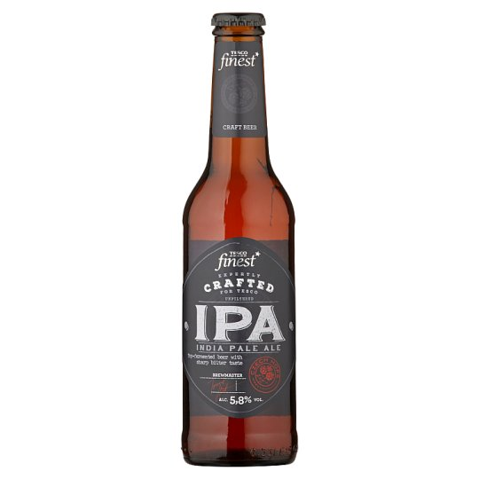 Tesco Finest IPA Beer Special Unfiltered Light 330 ml