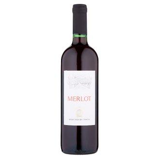 Merlot víno červené suché 750 ml