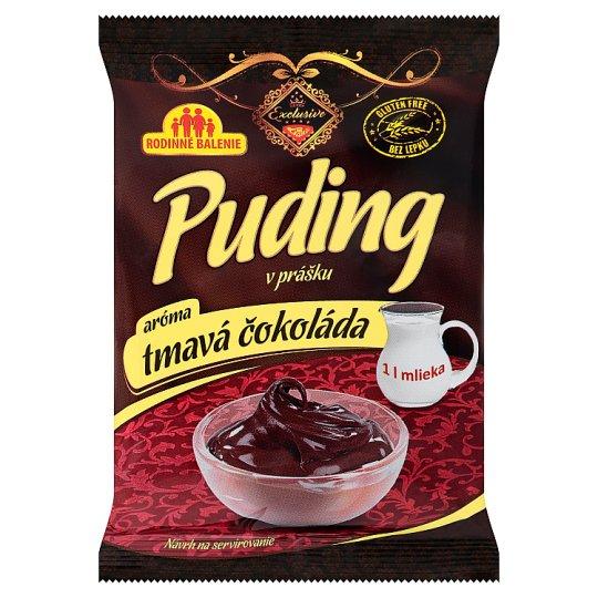 Liana Exclusive Puding v prášku aróma tmavá čokoláda 94 g