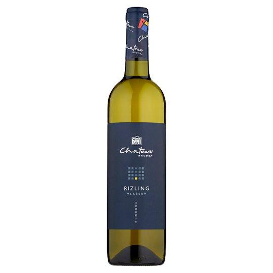 Chateau Modra Rizling vlašský slovenské akostné odrodové víno biele suché D.S.C. 0,75 l