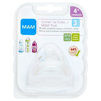 MAM Pacifier Bottle Fast for 4+ Months