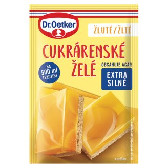 Dr. Oetker Confectionery Yellow Jelly in Powder 10 g