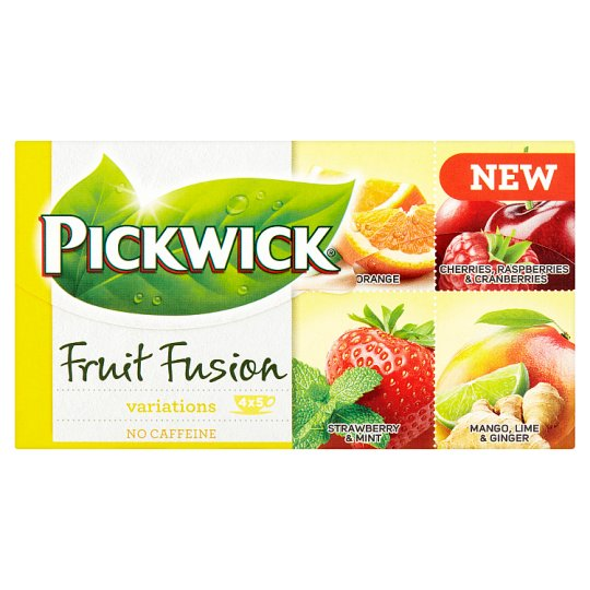Pickwick Fruit Fusion Variations 20 vrecúšok 37,5 g