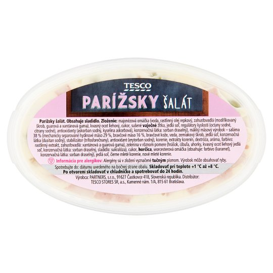 Tesco Parížsky šalát 140 g