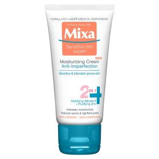 image 1 of Mixa Sensitive Skin Expert Moisturizing Cream 2in1 50 ml