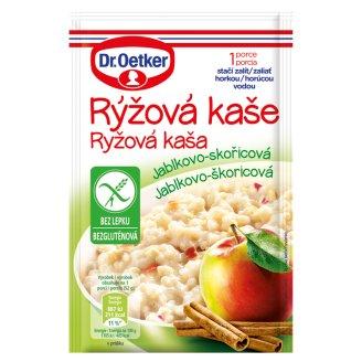 Dr. Oetker Ryžová kaša jablkovo-škoricová 52 g