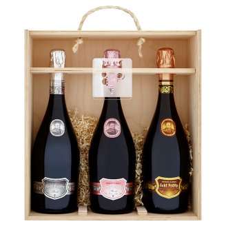 Sekt Pálffy Sparkling Wines Packing 3 x 0.75 L
