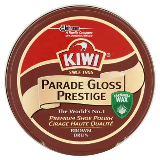 Kiwi Parade Gloss Prestige Shoe Polish Brown 50 ml