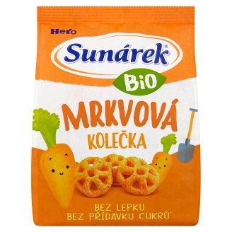 Sunárek Organic Carrot Wheels 50 g