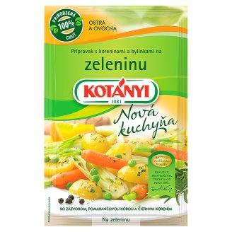 Kotányi Nová kuchyňa Prípravok s koreninami a bylinkami Na zeleninu 25 g