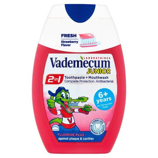Vademecum Junior Toothpaste 2in1 Strawberry 75 ml