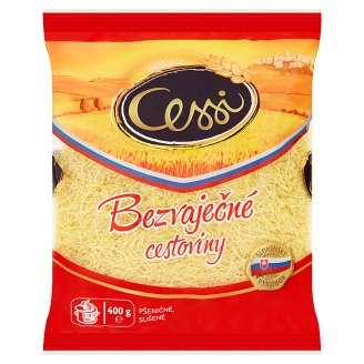 Cessi Egg-Free Pasta Wheat, Dried Niťovky 400 g