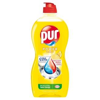 Pur Power Liquid Detergent for Hand Dishwashing Lemon Extra 450 ml