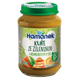 Hamánek Kurča so zeleninou a zemiakmi 190 g