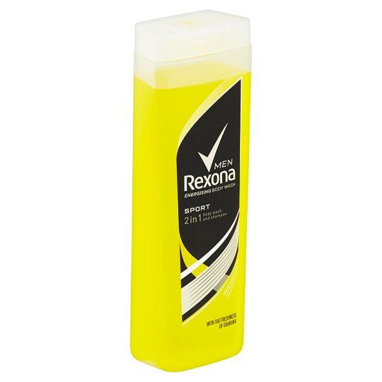 Rexona Men Sport sprchovací gél a šampón 400 ml