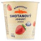 Milsy Bánovecký smotanový jogurt jahoda 145 g