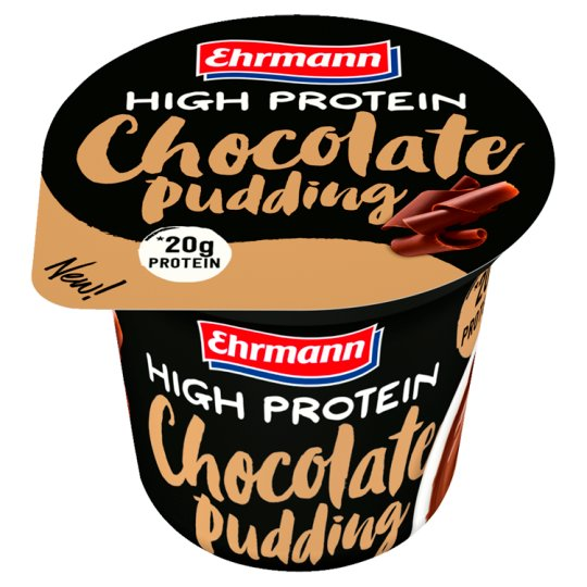 Ehrmann Chocolate Pudding with Reduced Lactose with Sweeteners 200 g