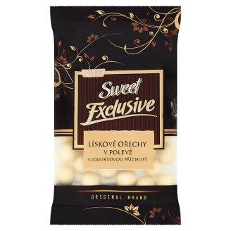 Poex Sweet Exclusive Pražené jadrá lieskových orechov v poleve s jogurtovou príchuťou 150 g