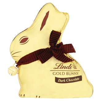 Lindt Gold Bunny Dark Hollow Figure from Dark Chocolate 100 g