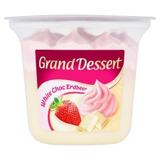 Ehrmann Grand Dessert Dezert s bielou čokoládou a jahodovou šľahačkou 190 g
