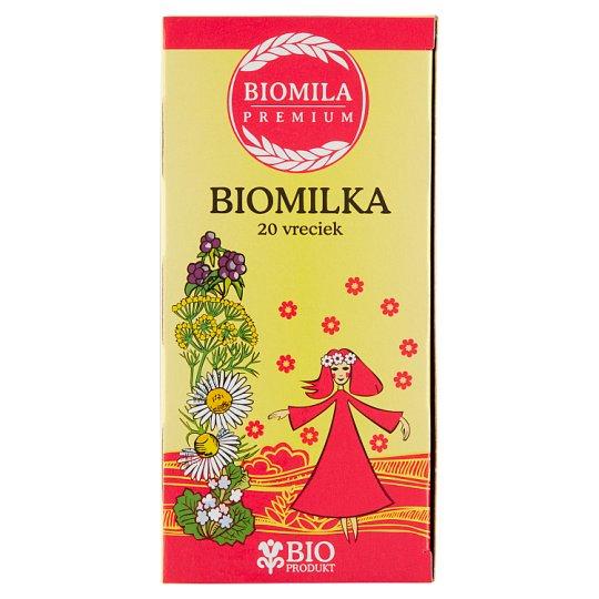 Biomila Biomilka bylinný čaj 20 x 2 g