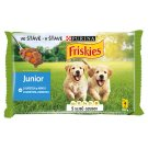 Friskies Puppy VitaFit Pocket for Puppies with Chicken and Carrot in Juice 4 x 100 g