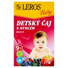 Leros Baby Children's Tea with Fruits 20 x 2 g