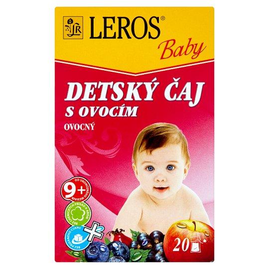 Leros Baby Children's Tea with Fruits 20 x 2 g