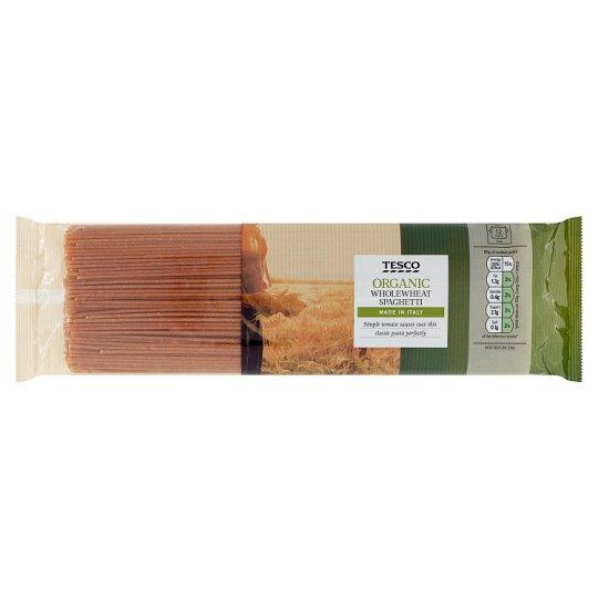 Tesco Organic Bio Spaghetti Dried Wholewheat Pasta 500 g