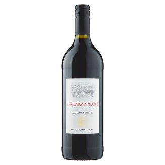 Svätovavrinecké červené víno suché 1 l