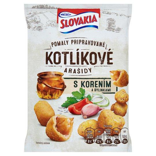 Slovakia Kotlíkové Pražené arašidy s korením a bylinkami 150 g