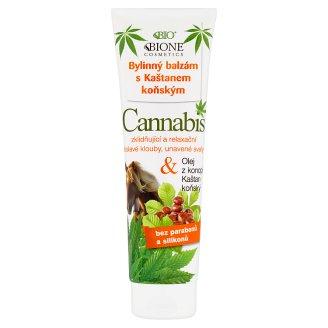 Bione Cosmetics Bio Bylinný balzam s gaštanom konským Cannabis 300 ml