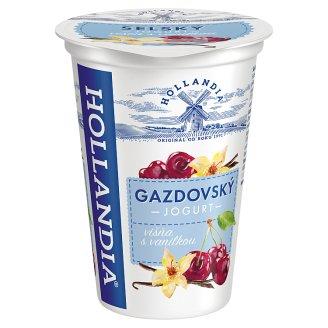 Hollandia Gazdovský jogurt višne s vanilkou, s kultúrou BiFi 200 g
