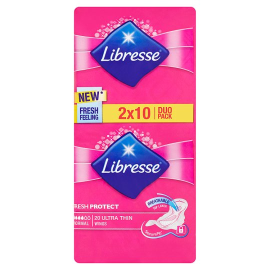 Libresse Normal Ultra Thin Sanitary Towels 2 x 10 pcs