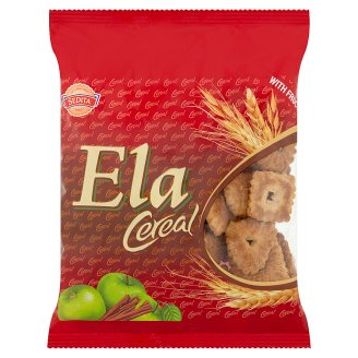Sedita Ela Cereal Cinnamon Biscuits with Fructose 100 g