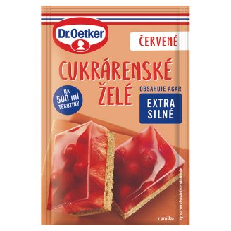 Dr. Oetker Confectionery Red Jelly in Powder 10 g