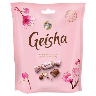 Fazer Geisha Pralinky z mliečnej čokolády s lieskovo-orieškovou náplňou 160 g