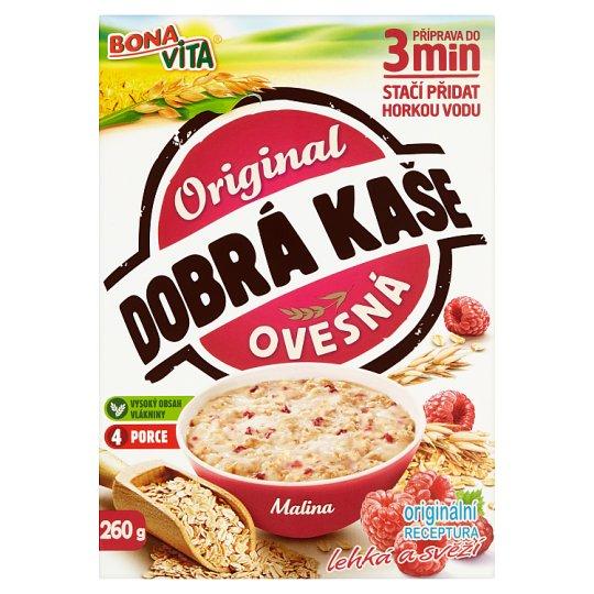 Bona Vita Dobrá kaše Original Raspberry Porridge 4 x 65 g