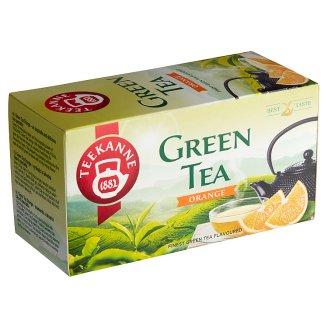 TEEKANNE Zelený čaj s príchuťou pomaranča, 20 vrecúšok, 35 g