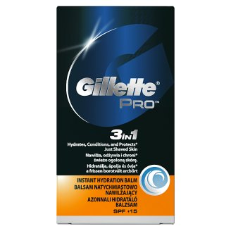 Gillette ProSeries Instant Hydration balzam po holení 3 v 1 50 ml