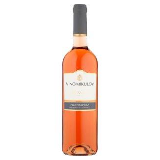 Víno Mikulov Frankovka víno ružové suché 0,75 l