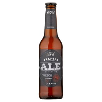 Tesco Finest ALE Special Light Unfiltered Beer 330 ml