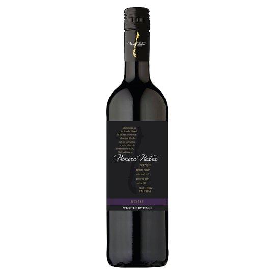 Primera Piedra Merlot červené víno suché 750 ml